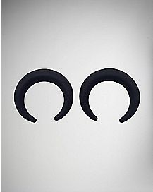 Large Pincher Plug 2 Pack- Black