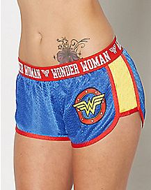 Wonder Woman Mesh Shorts