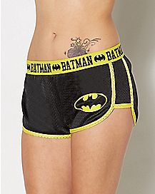Batman Mesh Shorts - DC Comics