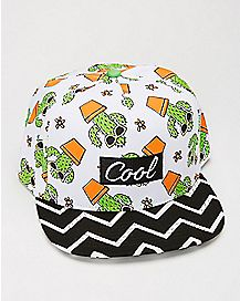 Cool Cactus Snapback Hat