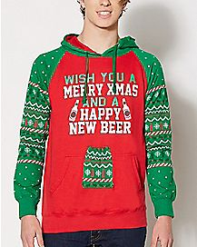 Happy New Beer Hoodie