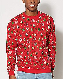 Merry XXXMas Fleece Sweatshirt