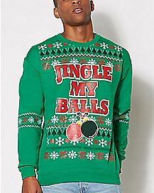 Jingle My Balls Fleece Sweatshirt