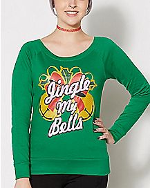 Jingle My Bells Fleece Sweatshirt