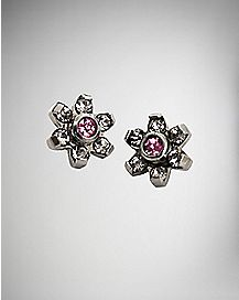 Pink Dermal Top 4 Pack - 14 Gauge