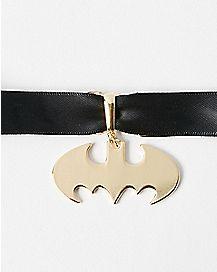 Batman Symbol Choker Necklace