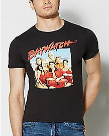 Group Baywatch T Shirt