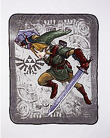 Link Legend of Zelda Fleece Blanket