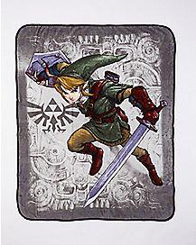 Link Legend of Zelda Fleece Blanket