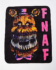 Five Nights at Freddy's Blanket
