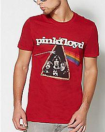 Prism Pink Floyd T Shirt
