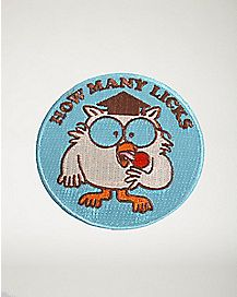 How Many Licks Patch