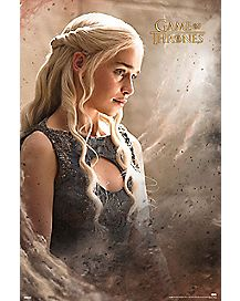 Daenarys Game Of Thrones Poster