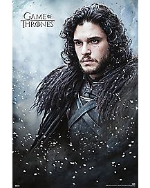Jon Snow Game Of Thrones Poster