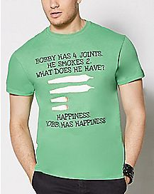 Bobby Has Happiness T Shirt