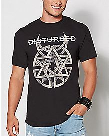 Disturbed Hand Symbol T Shirt