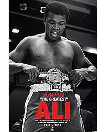Muhammad Ali Memorial Poster