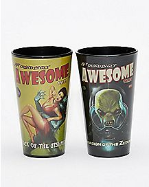 Fallout Pint Glass Set 2 Pack - 16 oz.