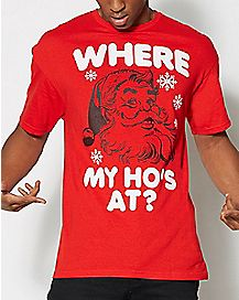 Where My Ho's At T Shirt