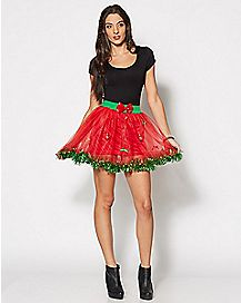 Christmas Tutu With Ornaments