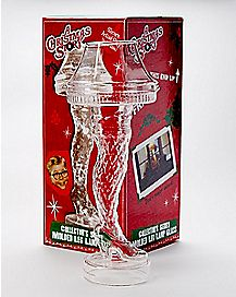 A Christmas Story Leg Lamp Glass - 18 oz