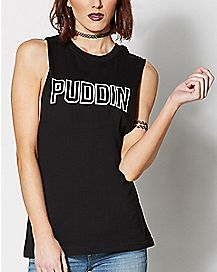 Puddin Suicide Squad Muscle Tank Top