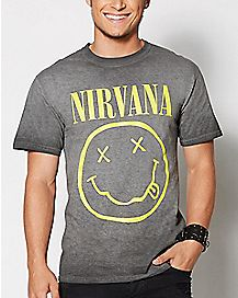 Smile Nirvana T Shirt