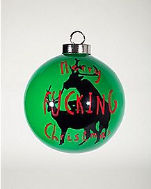 Merry Christmas Humping Reindeer Ornament