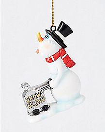 Snow Blow Ornament