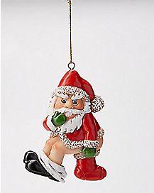 Dirty Santa Stocking Stuffer Ornament