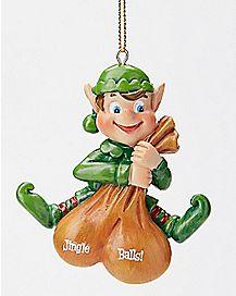 Jingle Balls Elf Ornament
