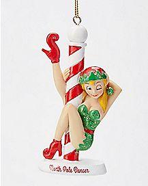 North Pole Dancer Ornament
