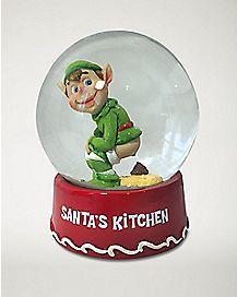 Elf Poop Snow Globe
