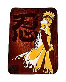 Naruto Fleece Blanket