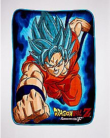 Dragon Ball Z Resurection F Fleece Blanket