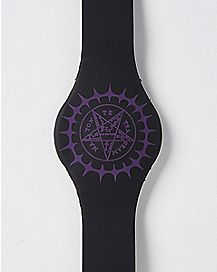 Pentacle Black Butler LED Watch