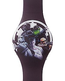 Rogue One Star Wars LED Watch
