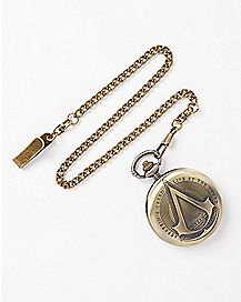 Live by the Creed Assassins Creed Pocket Watch