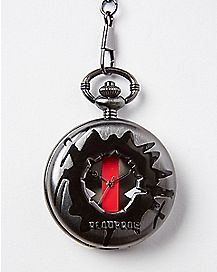 Deadpool Cutout Pocket Watch - Marvel Comics