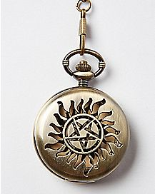 Cutout Supernatural Pocket Watch
