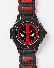 Red Deadpool Bullet Watch