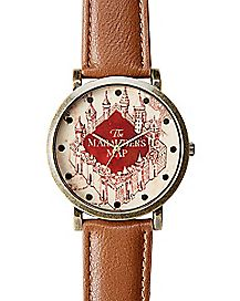 Marauders Map Harry Potter Watch