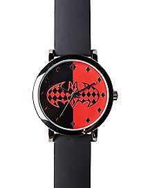 Harley Quinn & Batman Watch - DC Comics