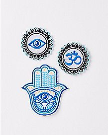 Hamsa Patch Set