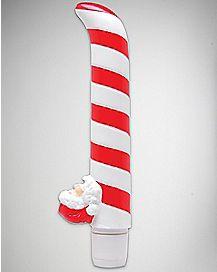 Santa's Lil Helper Waterproof G Spot Vibrator - 7.5 Inch