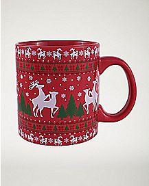 Humping Reindeer Mug 20 oz