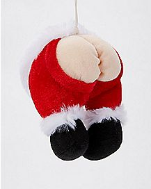 Santa Butt Ornament