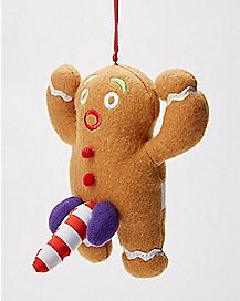 Naughty Gingerbread Ornament