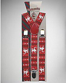 Humping Reindeer Suspenders