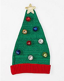 Christmas Tree Beanie Hat